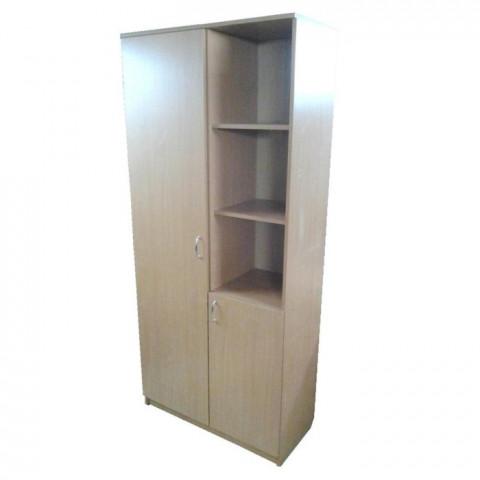 Шкаф комбинированный 1950х1000х400 двухдверный