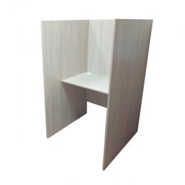 кабинка стол для колл центра 1-место. 900мм глубина перегородки