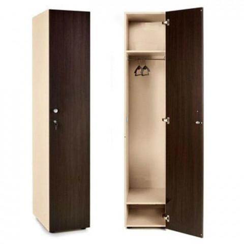 Шкаф для раздевалки 1 секционный 1770x332x450 ЛДСП