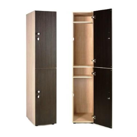 Шкаф для раздевалки 2х-этажный. крючки