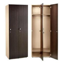 Шкаф для раздевалки 2 секционный 1770x648x450 ЛДСП