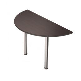 приставной стол полукруг R600