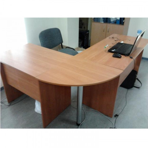 стол г-образный 1200+800+R600