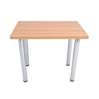 стол кухонный хромированные опоры