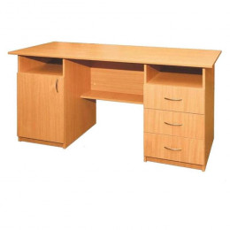 стол двух тумбовый