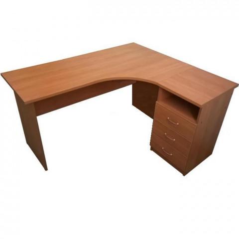 стол эргономичный угловой 1500х900 с тумбой