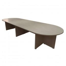 стол переговорный Овальный Большой (модульный 6-частей)