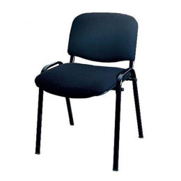 стул ИЗО черный тканевый