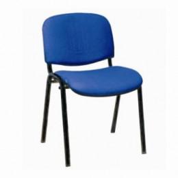 стул ИЗО синий тканевый