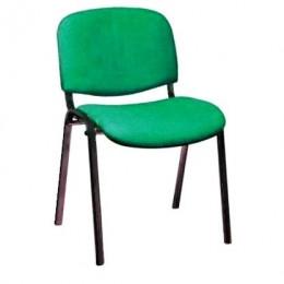 стул ИЗО зеленый тканевый