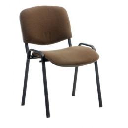 стул ИЗО коричневый тканевый