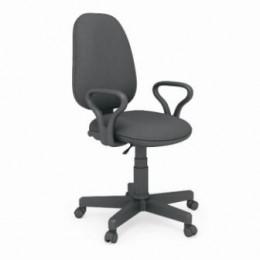 кресло офисное Престиж черная-ткань