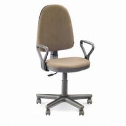 кресло офисное Престиж бежевая-ткань