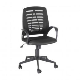 кресло офисное ИРИС (IRIS) черная-сетка