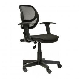 кресло офисное Вальтер черная-сетка