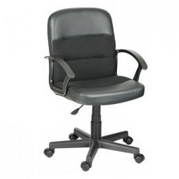 кресло офисное ВЕЙТОН (пластик, ткань/кожзам)
