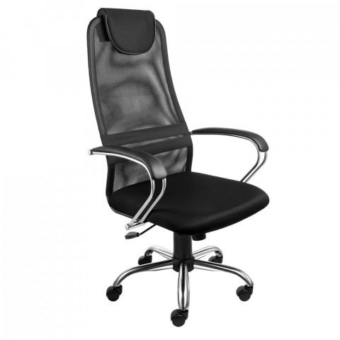 кресло руководителя хромированное AV-142 CH