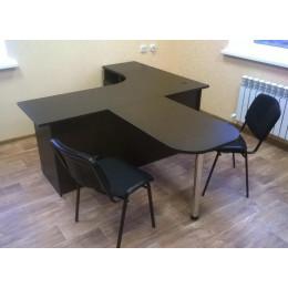 стол для руководителя угловой с брифингом