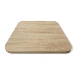 столешница для стола ЛДСП закругленная овальная