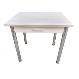 Стол кухонный с ящиком прямоугольный