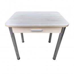 Стол кухонный с ящиком круглые углы