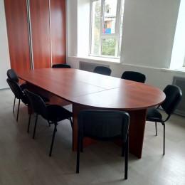 стол переговорный Овальный (модульный 4-части)