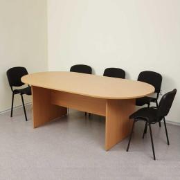 стол переговорный Овальный (цельная столешница)
