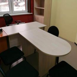 стол руководителя т-образный модульный