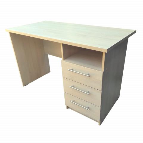 стол однотумбовый 3-ящика письменный